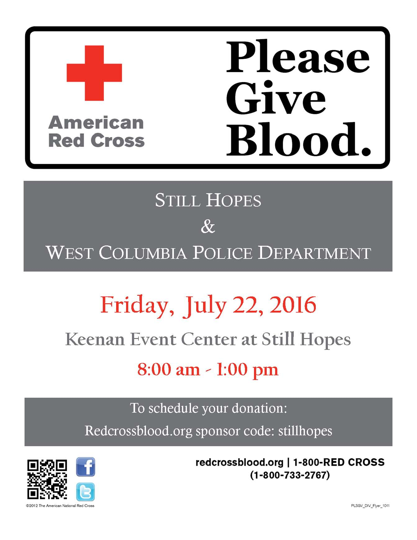 Red Cross and Still Hopes Blood Drive